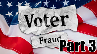 Voter Fraud part 3 logo